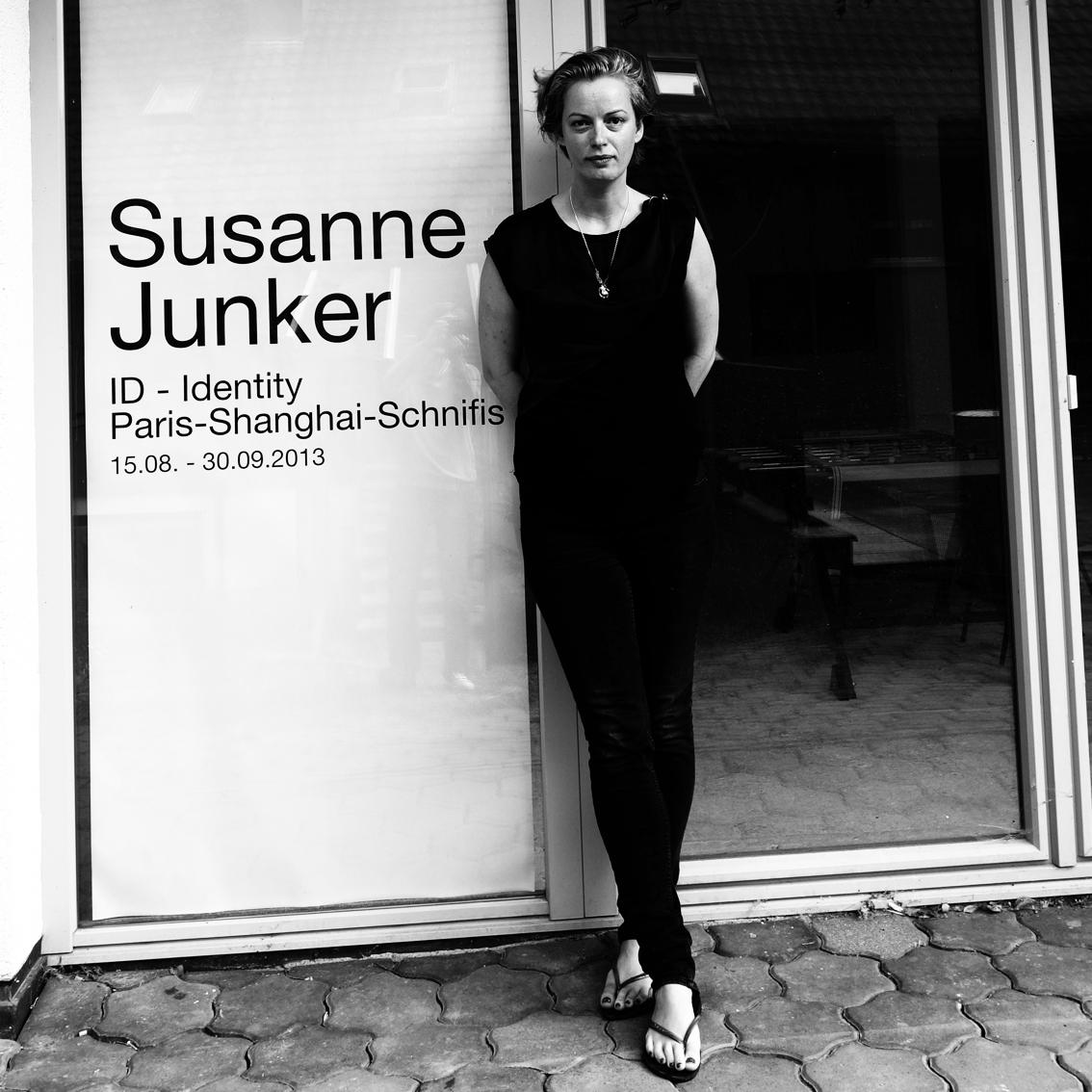 Susanne Junker in Schnifies, Austria, 2013.