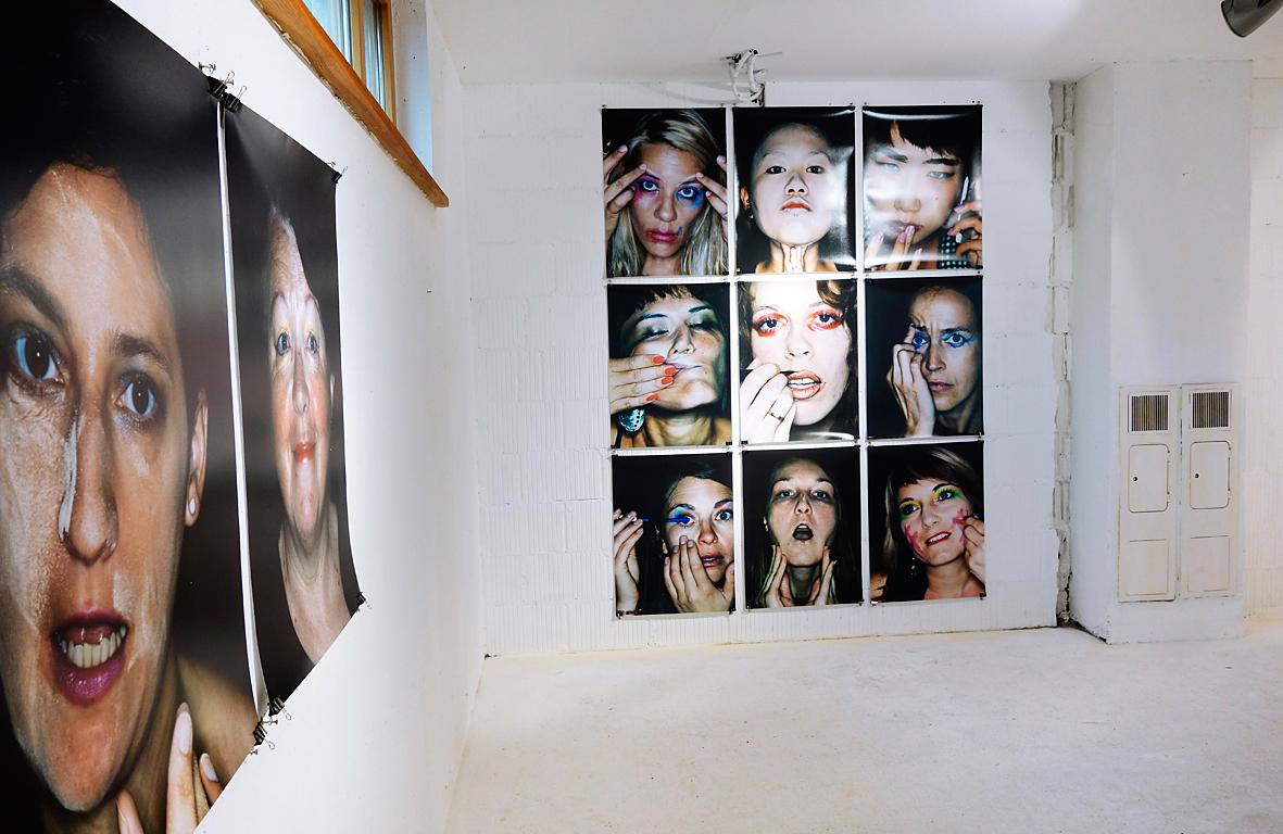 Installation view, ID-Identity - work in progress, 12C Raum für Kunst, Schniefis, Austria.