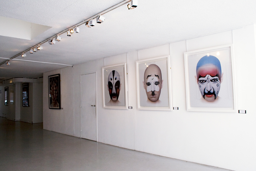 installation view,tête a tête,acte2 galerie, Paris France, 2009