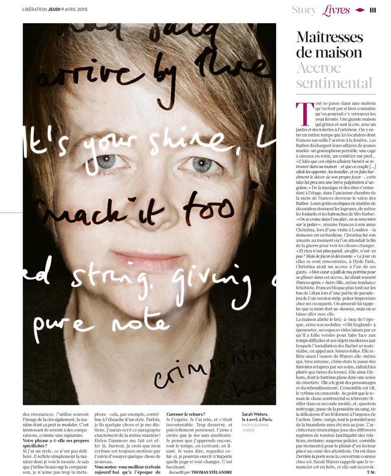 publication for Libération April 2015