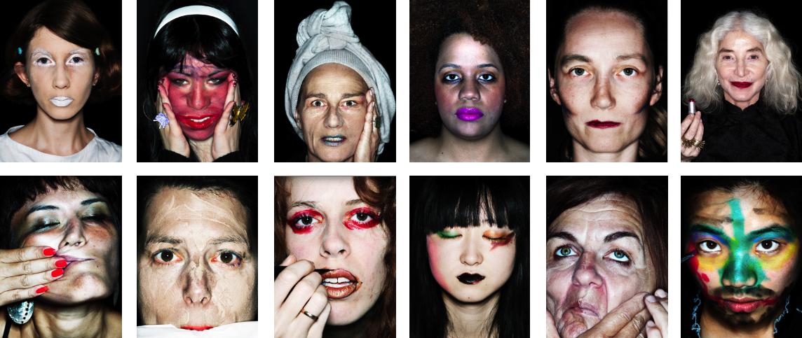 ID-Identity, extract of 204 portraits, 2006 - recent (work in progress)