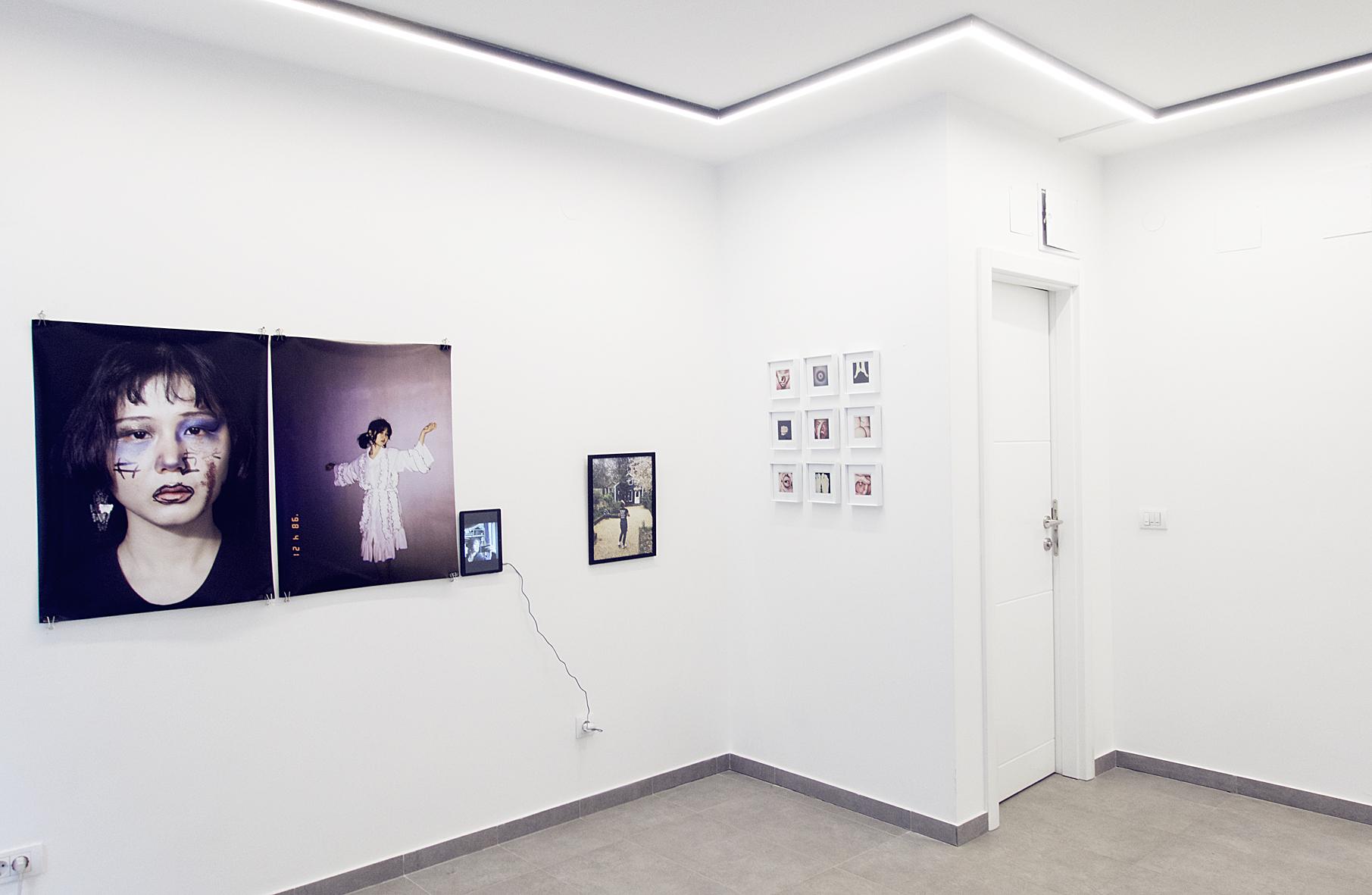 "Installation view, ""Re-Searching Identity"", LauferArt Galerie, Belgrade, Serbia."