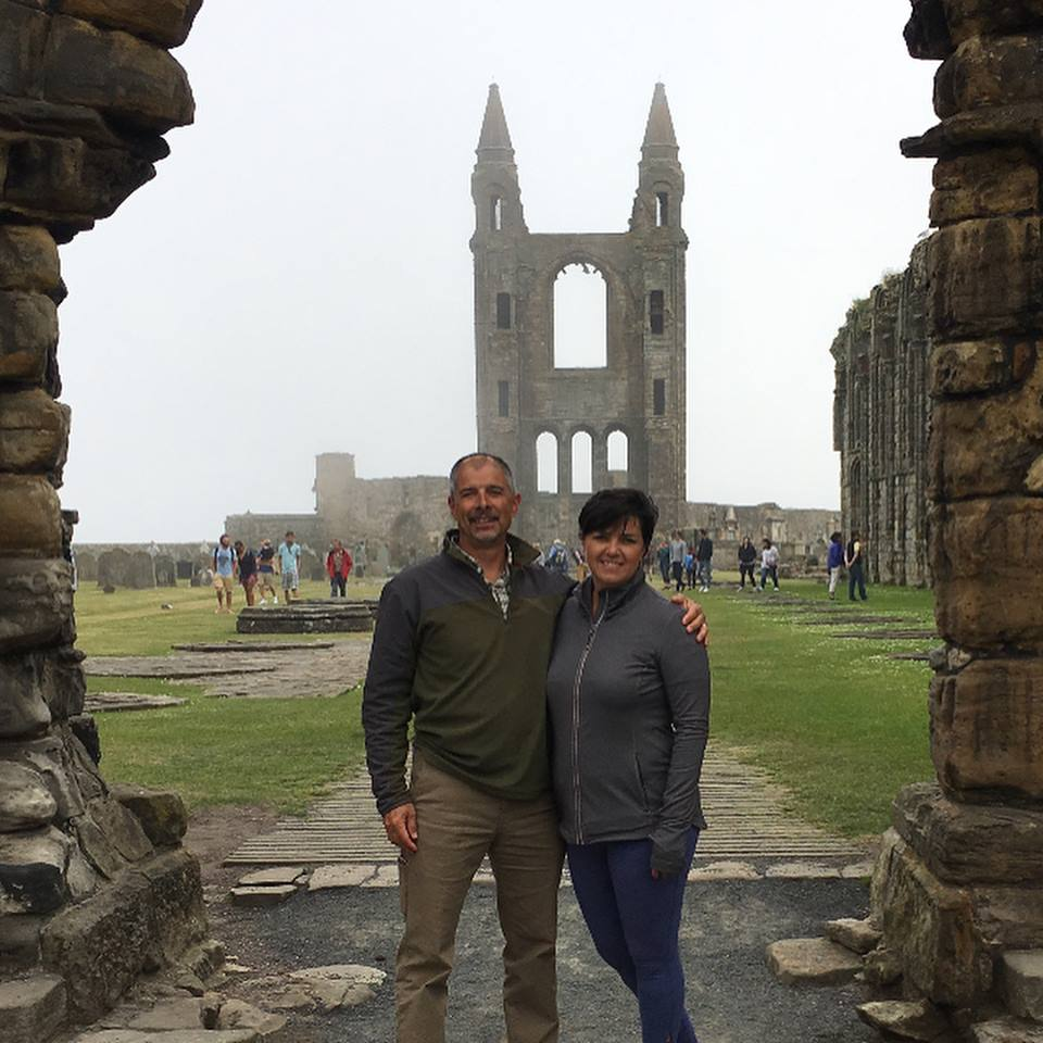 """""""St. Andrews cathedral was once the most significant church in Scotland, but it is also in ruins and stands in the midst of its own cemetery."""""""