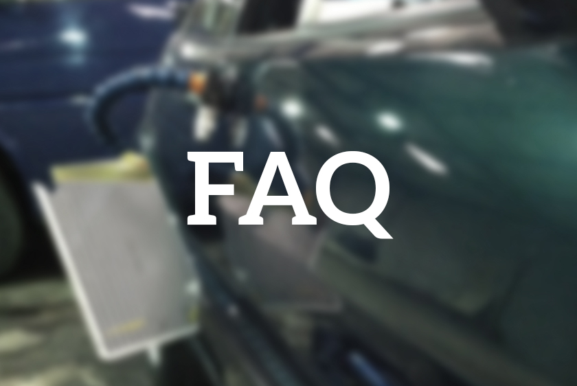 Have a question about how Paintless Dent Removal (PDR) works? You'll find it in here!