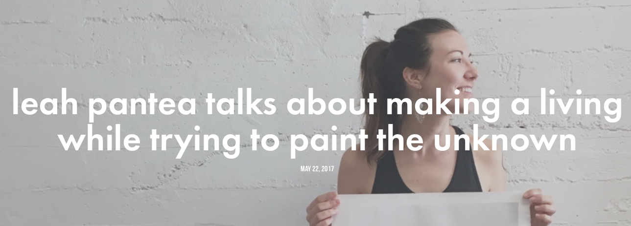 Leah Pantea is a creator and painter based in San Diego. In this episode, she opens up about her upbringing, her thoughts on faith and the unknown, San Diego's art scene, and a lot more.   listen here