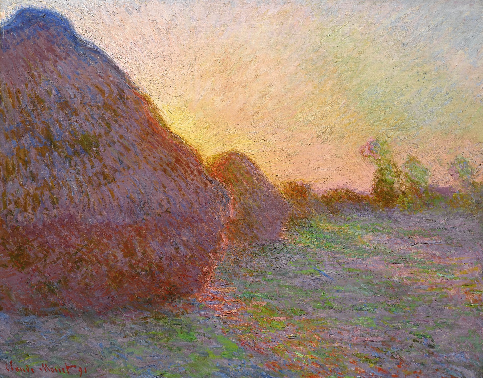 Meuses, by Monet sold in 2019 for $100.7 million dollars.