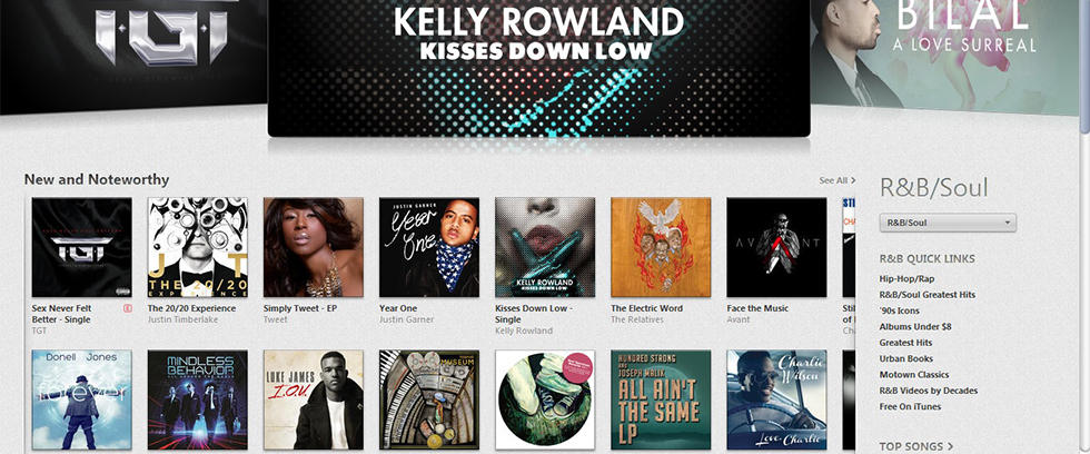Justin Garner Featured on iTunes