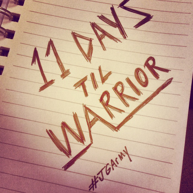 11 Days Til Warrior Album!