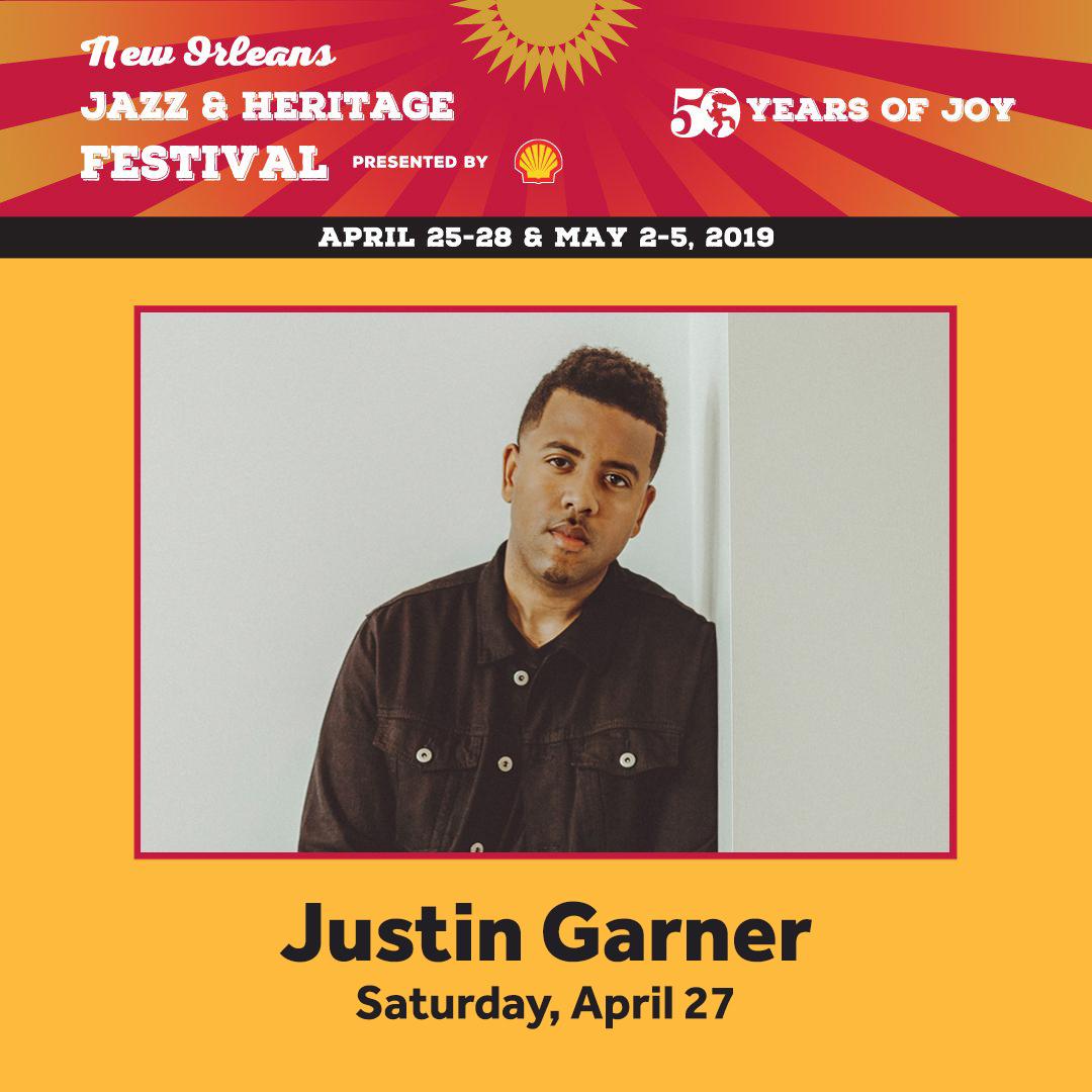 Justin Garner Jazz Fest
