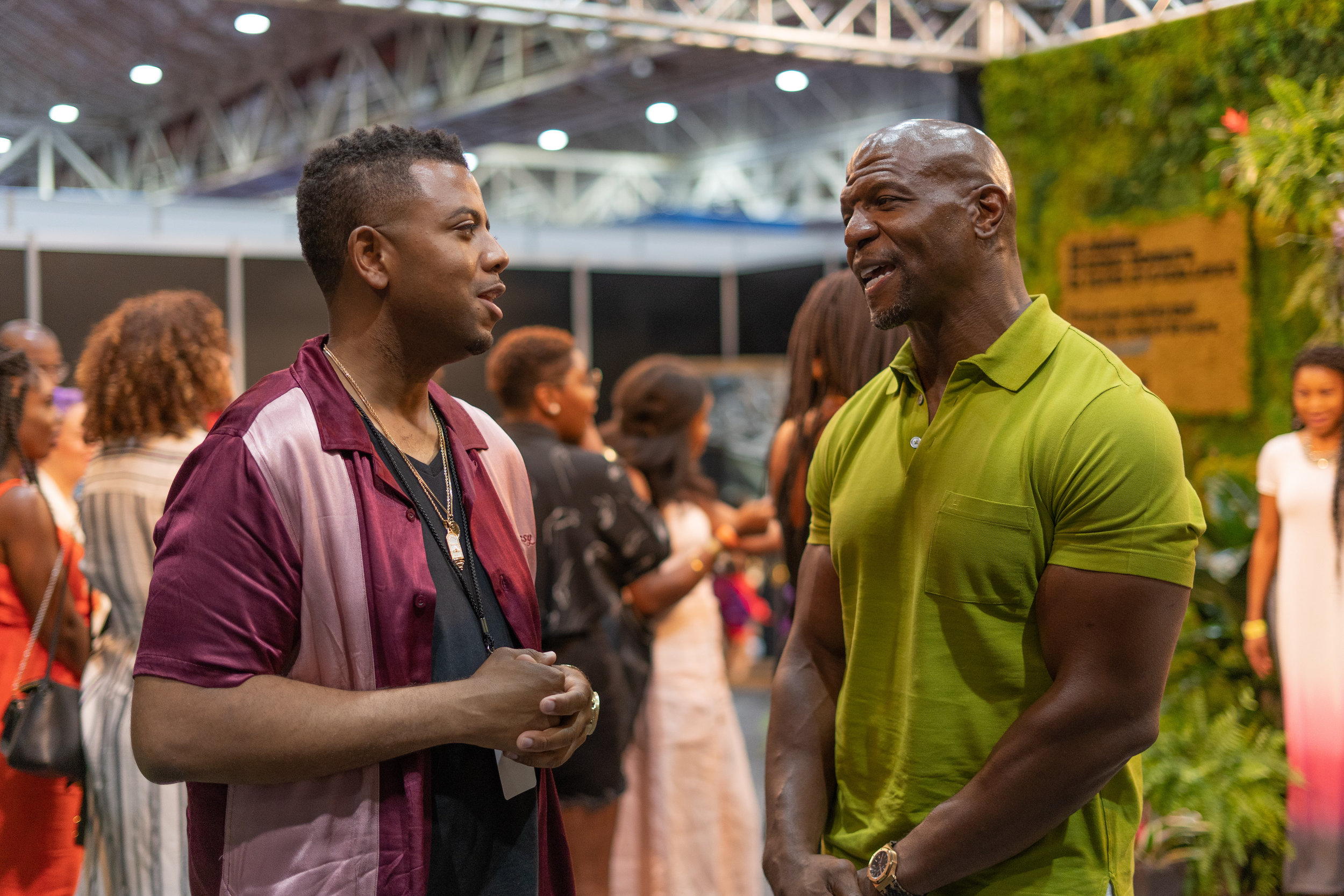 Justin Garner & Terry Crews