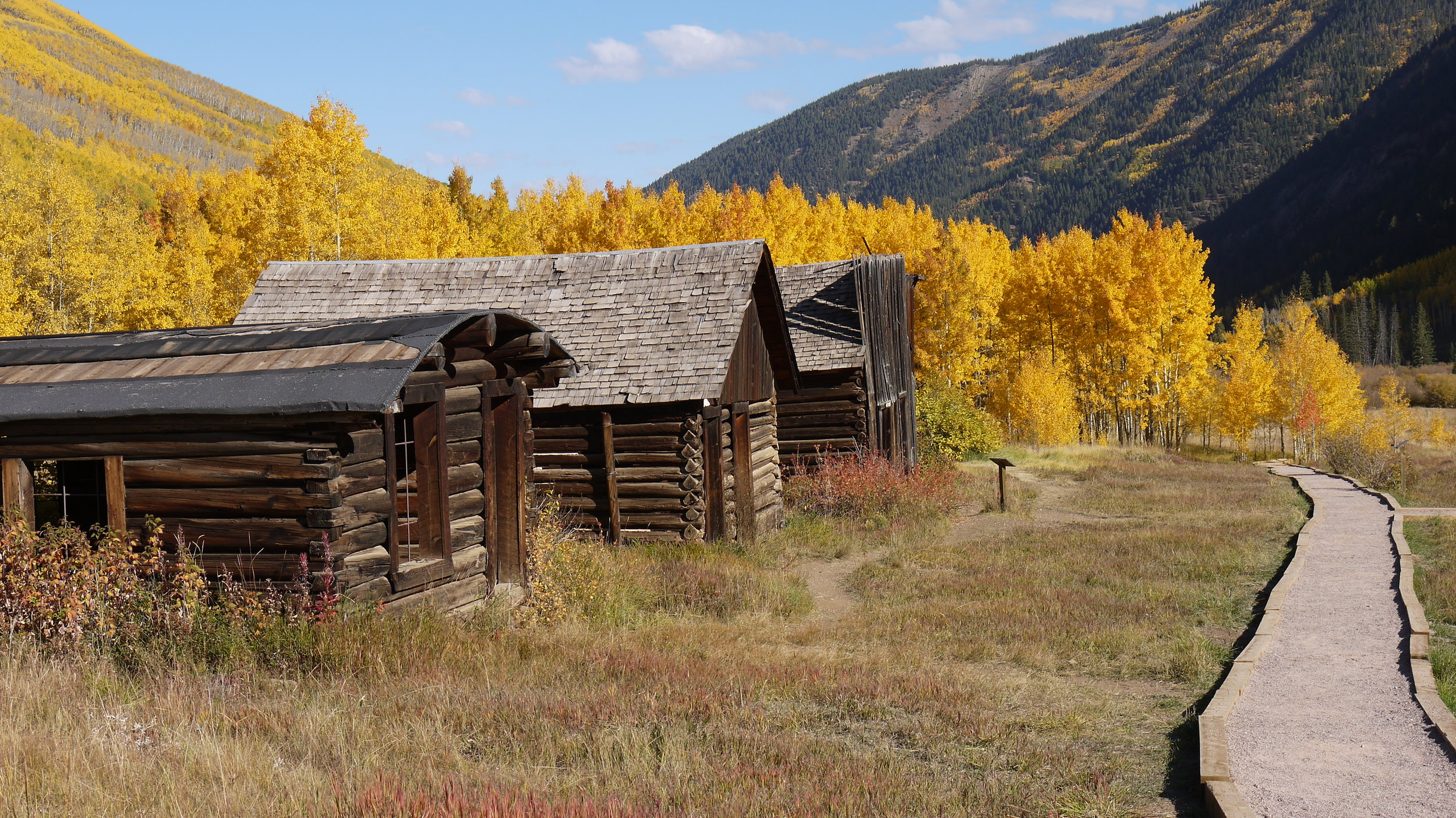 The historic Ashcroft Ghost Town has nearly a dozen restored buildings on site and signage which helps to tell the history of this once-bustling mining city. Today, there's a different sort of gold in the hills, and that's the kind found on the enormous stands of aspens enshrouding the town. Stop by for a guided tour from the Aspen Historical Society on Friday through Monday, 9 a.m. to 5 p.m., or check it out any time on your own.
