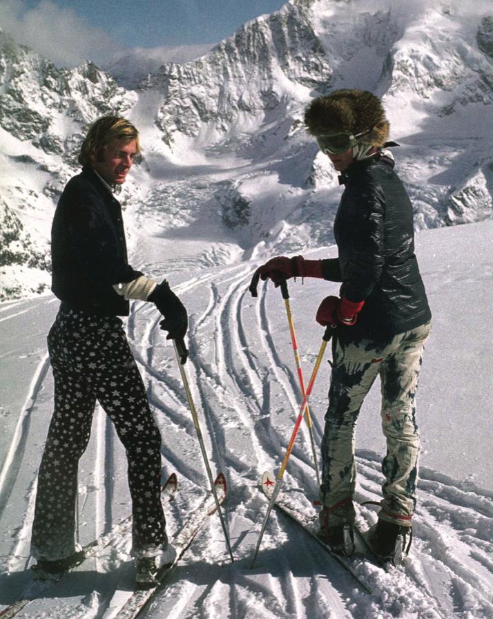 St. Moritz 1972: Wolfgang Bierlein and Teresa Sayn-Wittgenstein