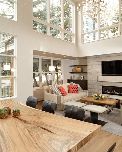 A Kristin Dittmar designed home in Aspen