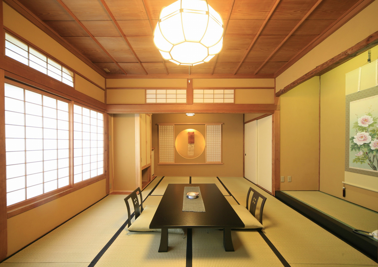 Not much has changed by way of Japanese interiors since the 14th-century: The lovely Masuya Yushinan Hotel carries on the tradition.