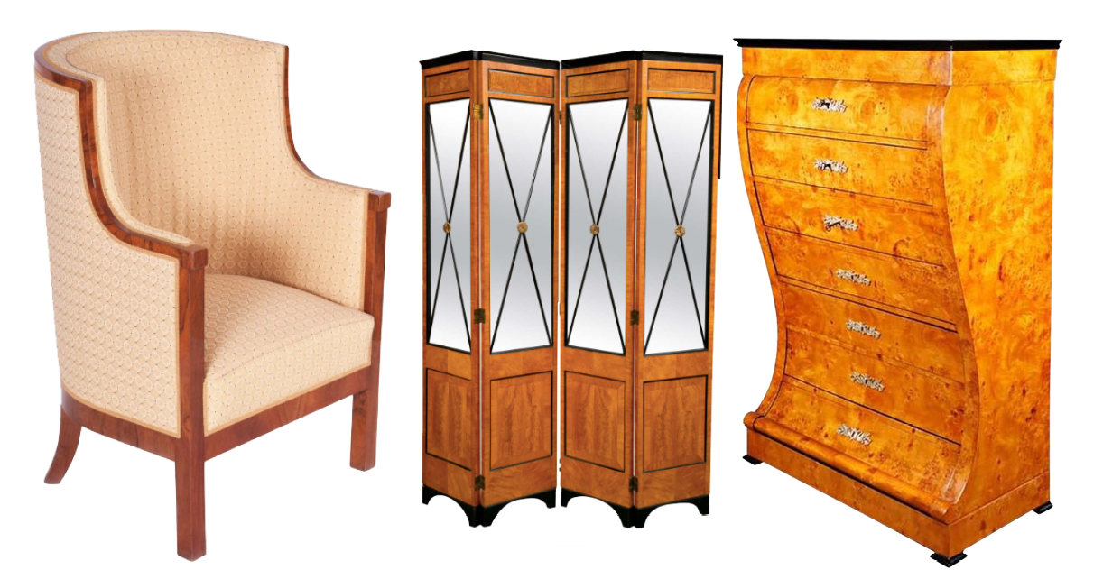 Biedermeier furniture on 1st Dibs