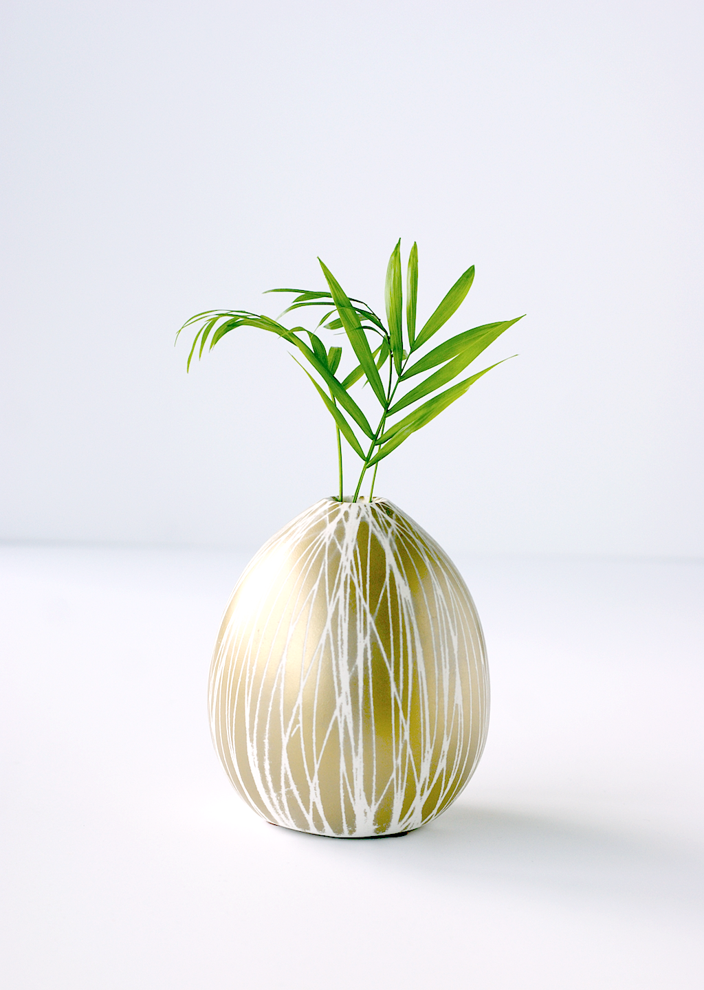 West Elm Vase Makeover - DIY Modern Pineapple Vase