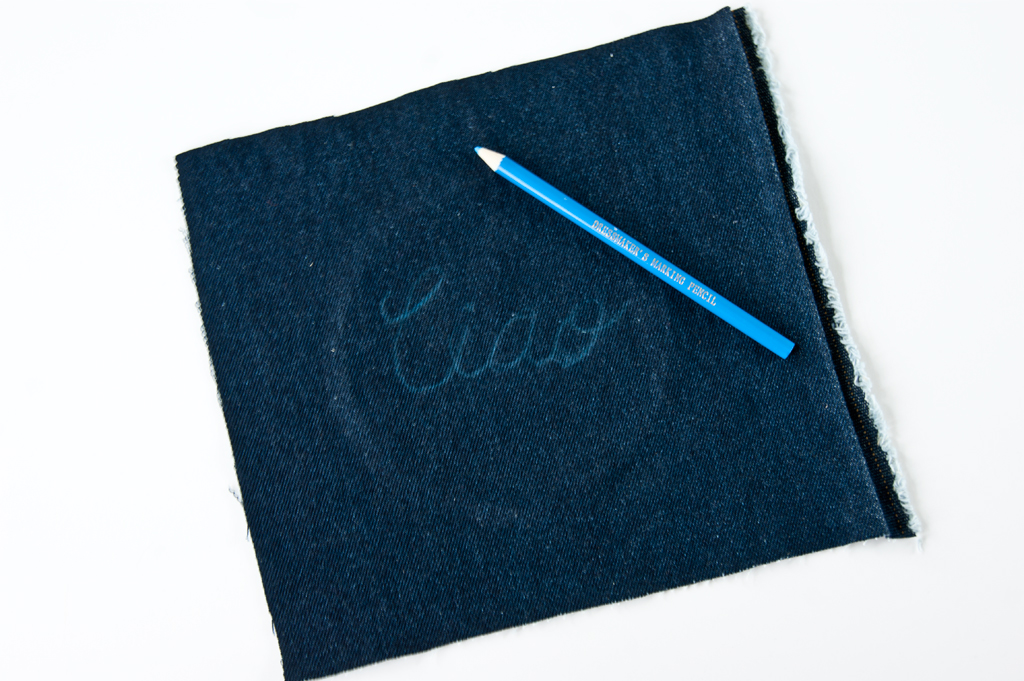 DIY needleword - Embroidery Hoop Wall Sign Step 1