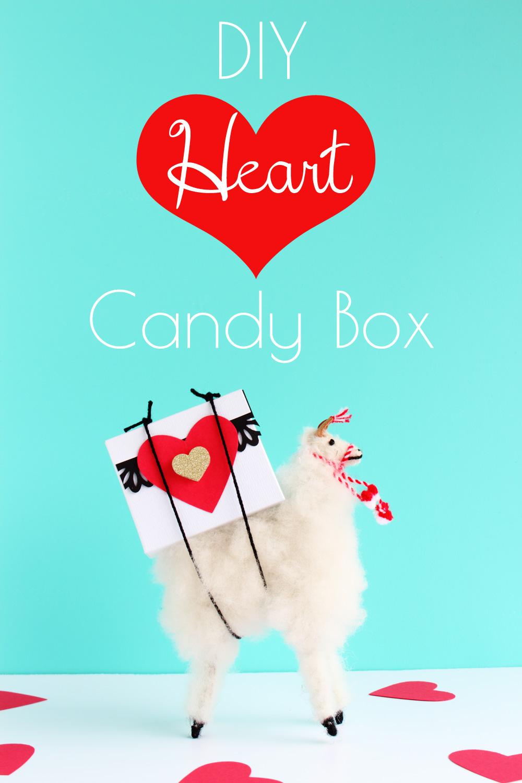 Valentine's Day DIY - Heart Candy Box
