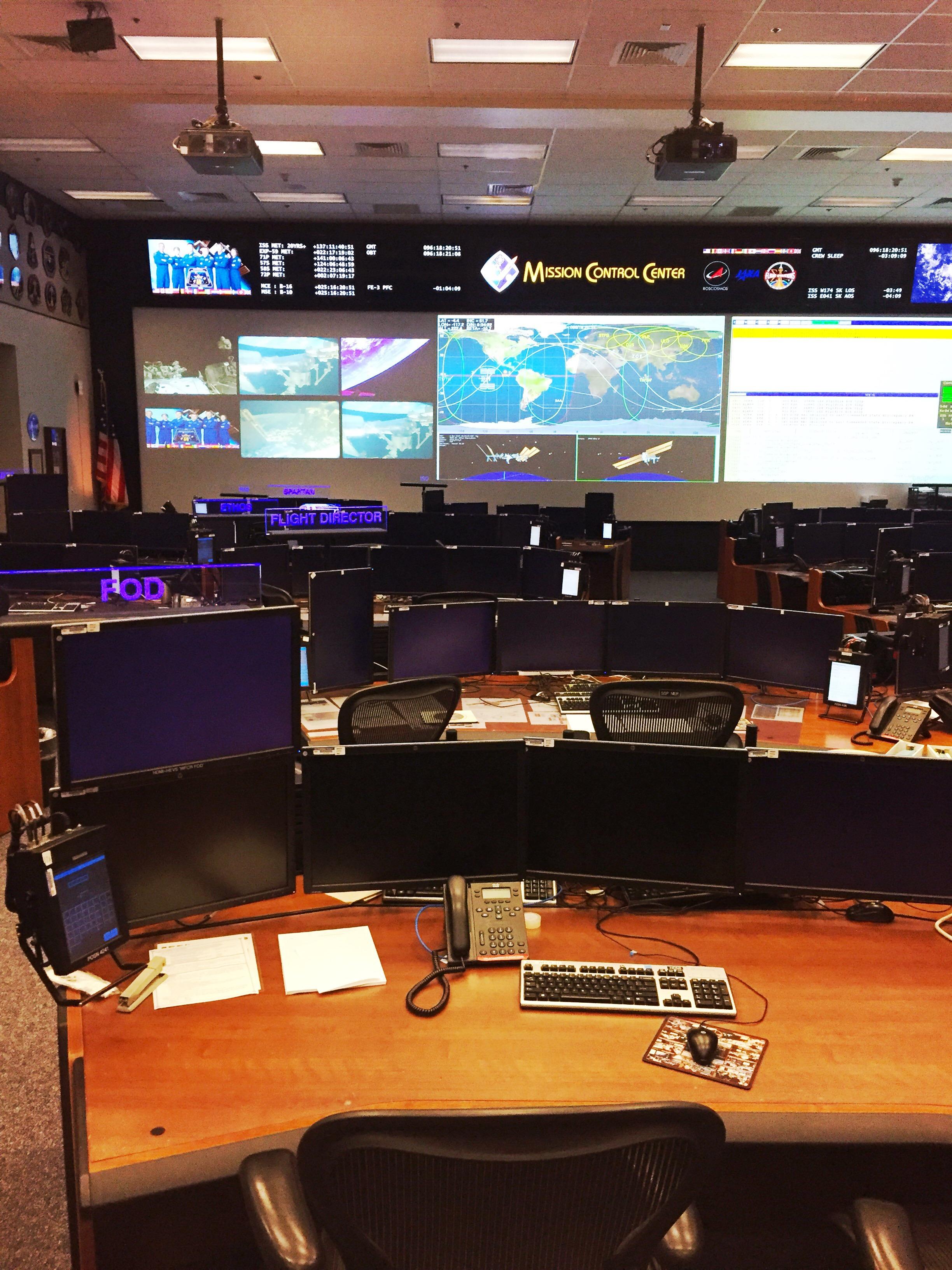 nasa houston space center mission control