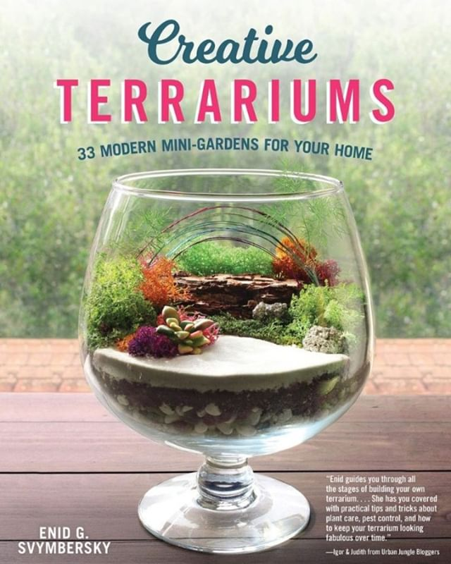 Dear friends! I can finally tell you my big news, I wrote a book! It's called Creative Terrariums, 33 Modern Mini-Gardens for Your Home. As some of you already know, I love sharing all sorts of crafty ideas and projects { link in profile }. After 4 years of sharing ideas on my blog, I caught the eye @foxchapelpublishing Publishing.  When asked to write a book on terrariums I jumped at the opportunity!  For well over a year, I researched, wrote, photographed and passionately produced over 33 projects spanning 240 pages.  Along the way, there were some ups and downs, sweat and tears, and even prickly cactus pricks. In the end, it all came together beautifully, and I'm so proud to share it all with you!  If you or someone you know would like to bring a little green indoors and learn how to make creative terrariums for every corner of your home, pick up my new book. Creative Terrariums is currently available on @Amazon and @BarnesandNoble tomorrow! To be available wherever books are sold this month. A huge shout out to @urbanjungleblog, @igorjosif, and @joelixjoelix for all their inspiration and bringing together a global community of plant parents and stylists together in one place. This never would have been possible without this amazing community!  #urbanjunglebloggers #planylife #plantsmakepeoplehappy #terrarium #airplants #hygge #bhghome #succulents #succulentgarden #bookstagram #gardening