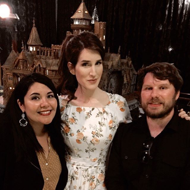 Forever this day will live in my heart! Had the most amazing time meeting my DIY Hero #christinemcconnell 🥰 from @Netflix show #thecuriouscreationsofchristinemcconnell @winchestermysteryhouse if you are in the area, stop by and see her beautiful gingerbread recreation of the house. The entire room smells like Christmas!
