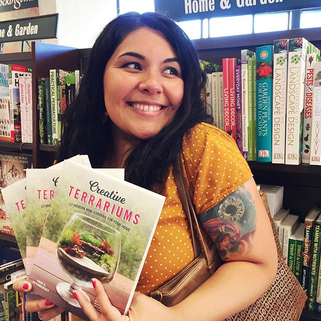 Christmas came early this year! My little book is now being sold @barnesandnoble stores all over the country. Words cannot begin to express how grateful I am, and thankful to all the support I received from friends, family and @foxchapelpublishing ❤️ thank you all! I'm literally in the Home & Garden section with ALL my @hgtv favorites and #plantparent heroes 🥰....😱