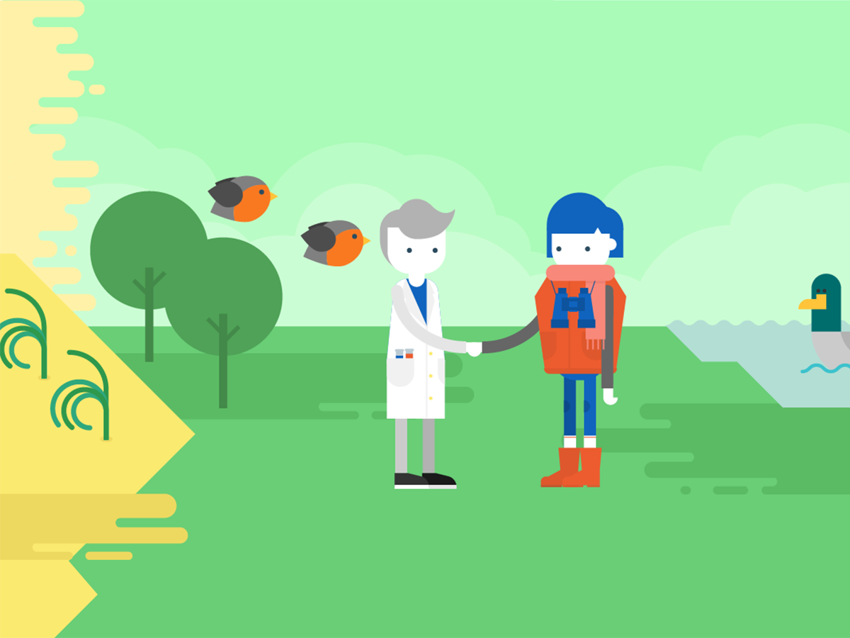 citizen science interactive infographic