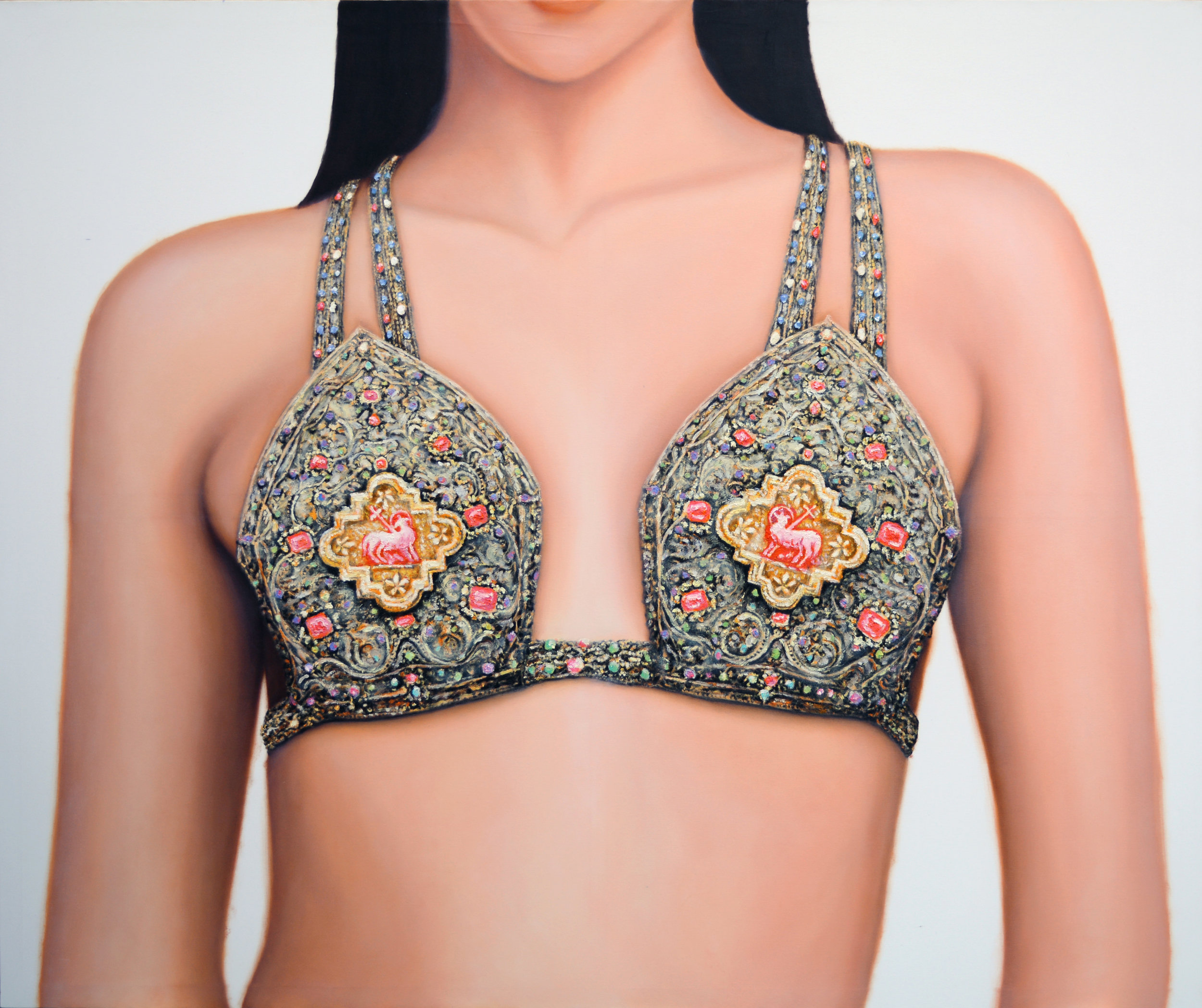 Matus Lanyi, Bikini V IHS series, 2016, Oil On Canvas.JPG