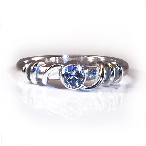 Anna Clifton Jewellery - Grace Solitaire Ring
