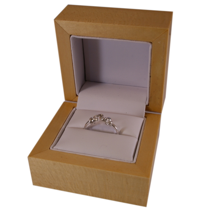 Wooden Ring Box - I quite like these but they're imported and not very original looking.