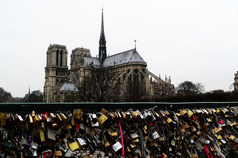 Pont de l'Archevêchéin Paris