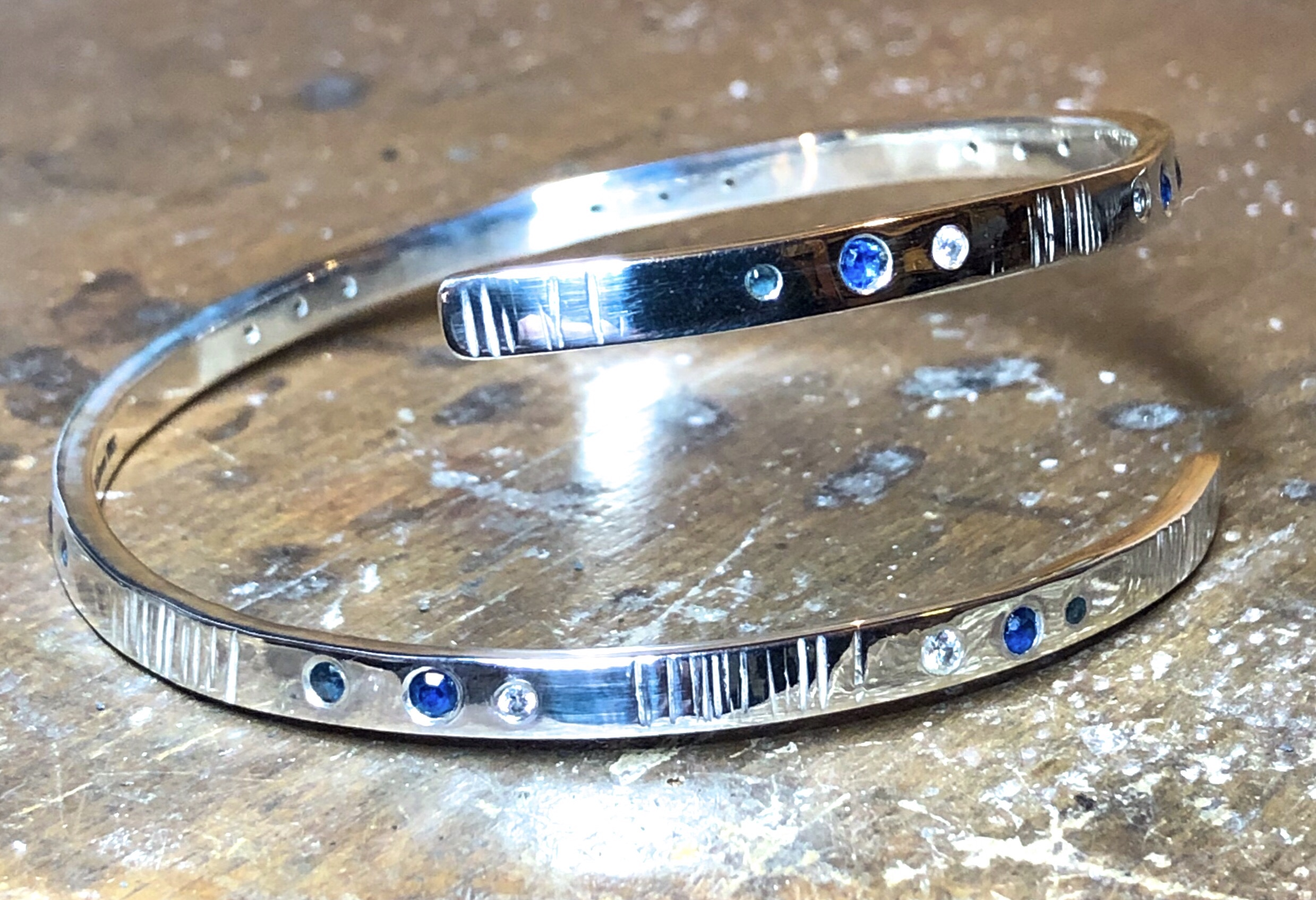 40th Birthday Bangle