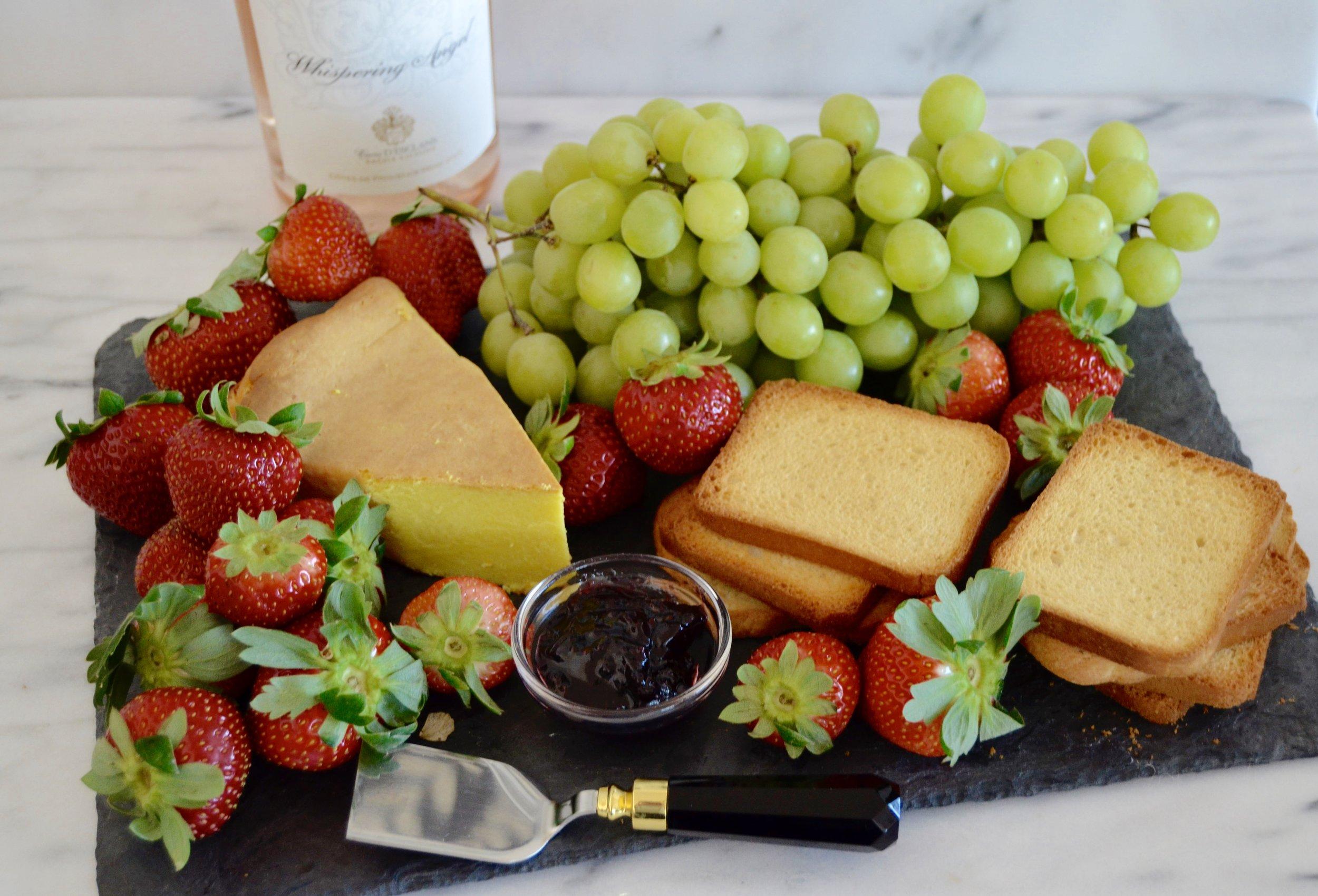 sweet cheese tray