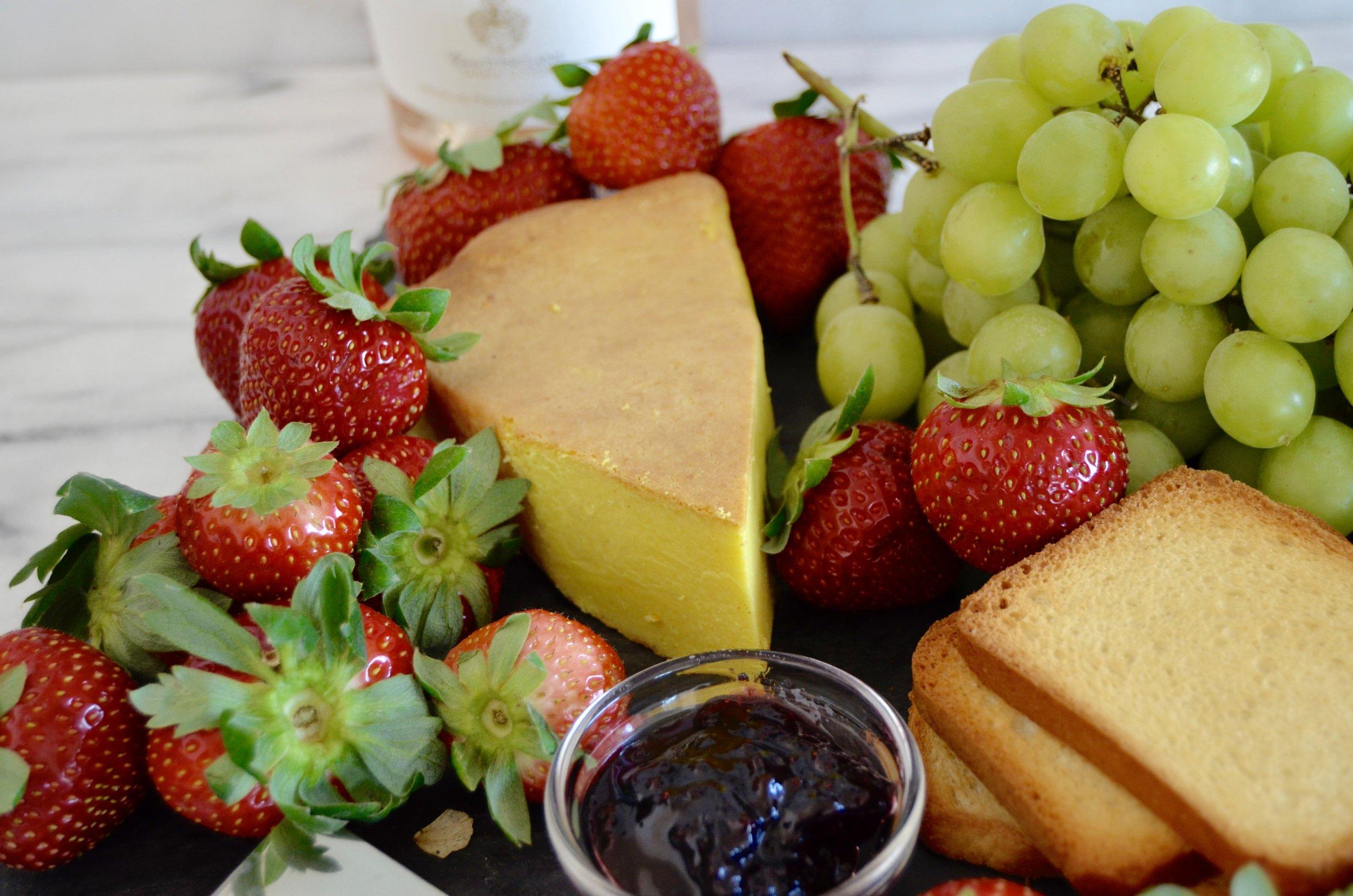 baked lemon ricotta cheese