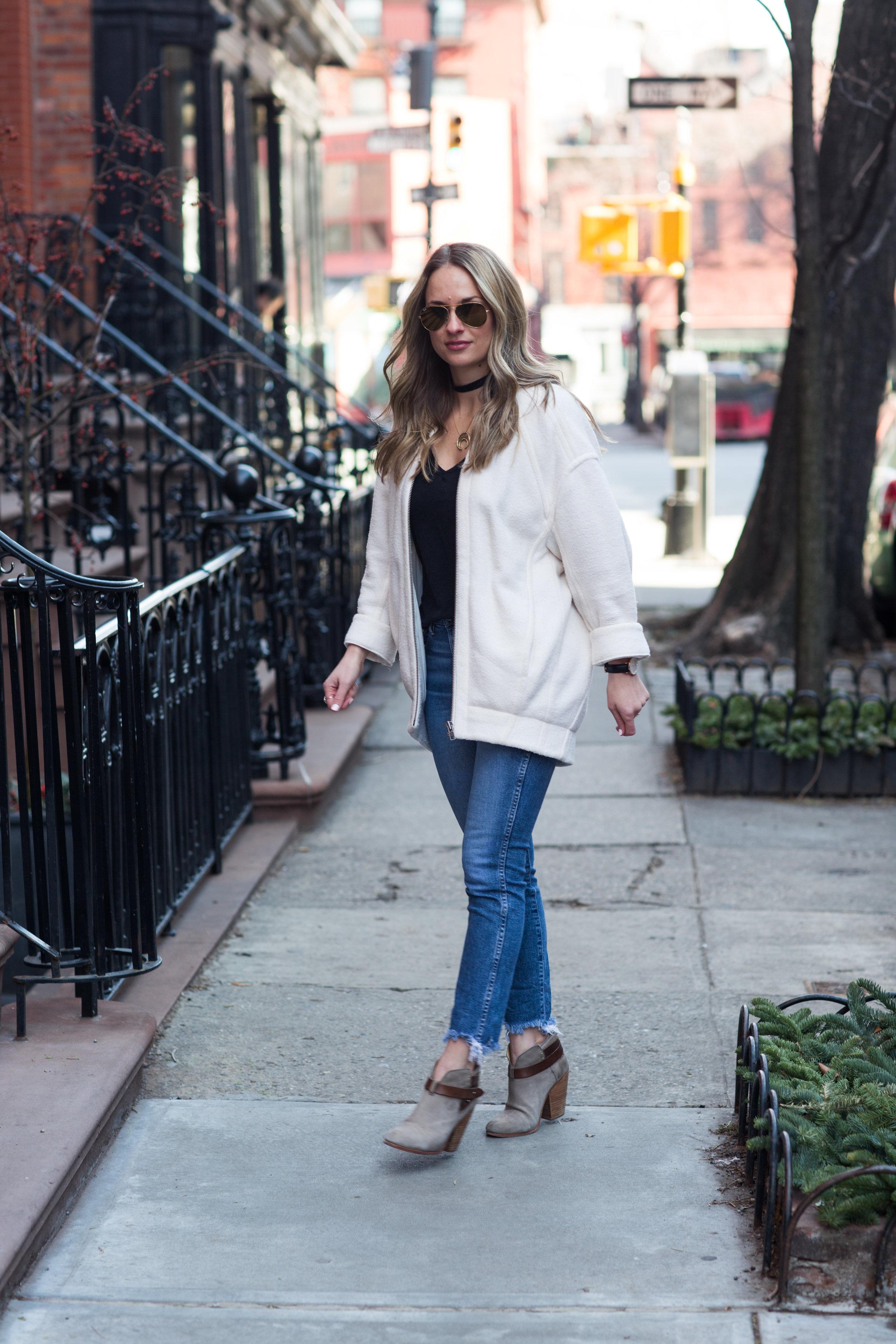 helmut lang sweatshirt jacket