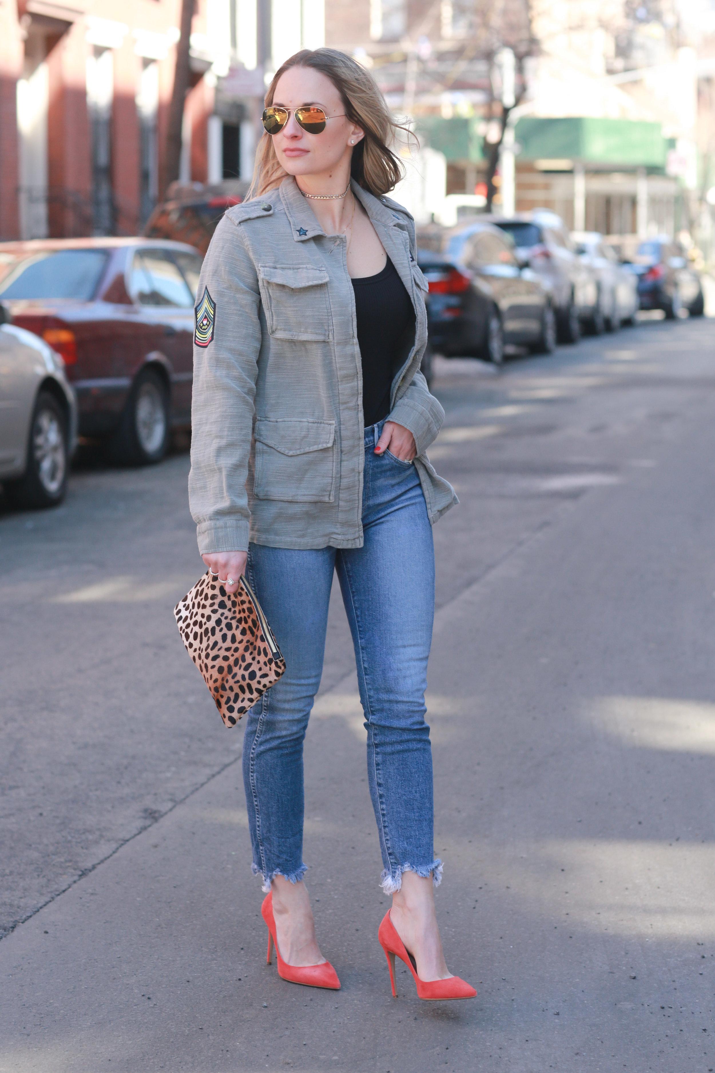 frayed hem jeans by 3x1