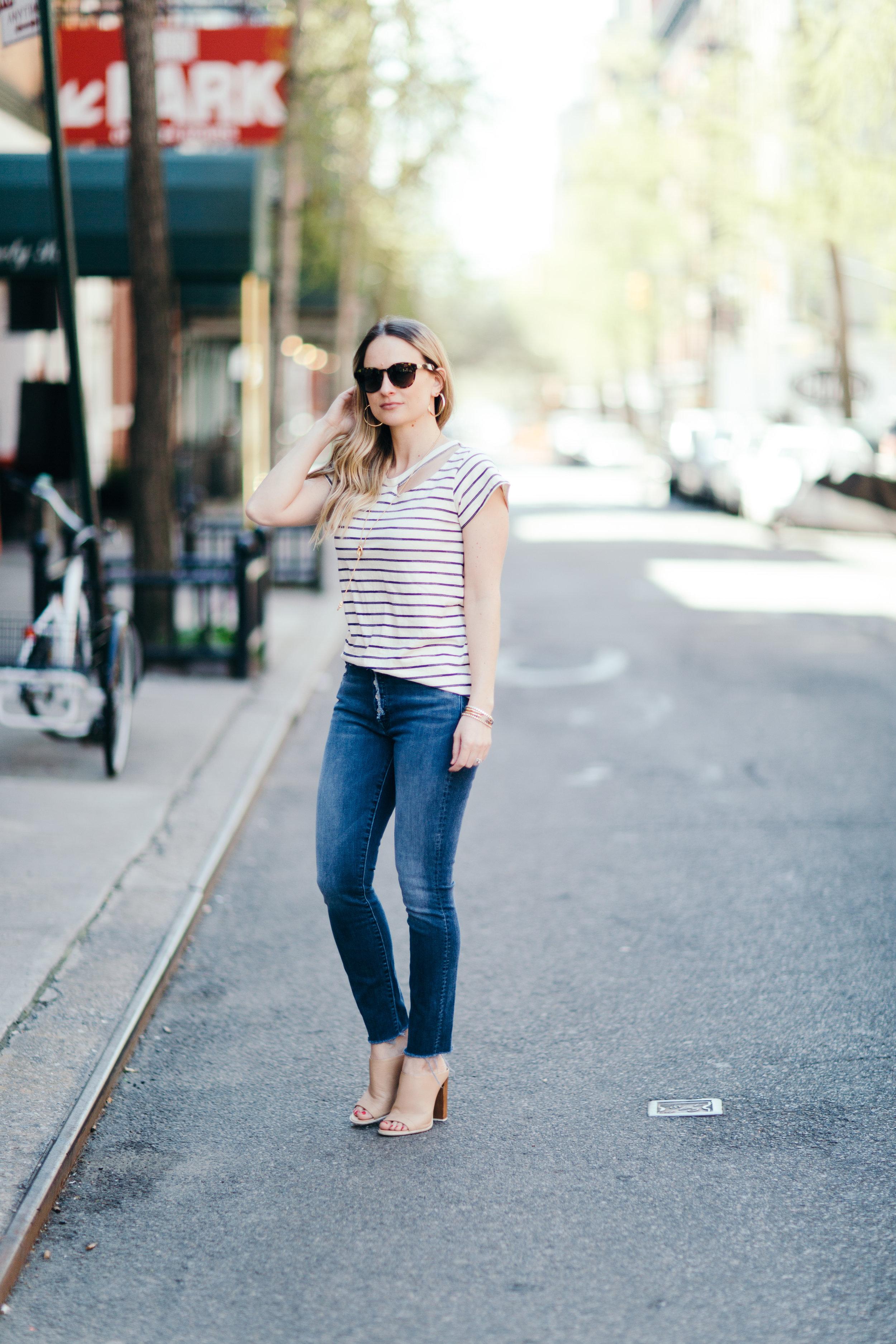 mother denim insider fray jeans