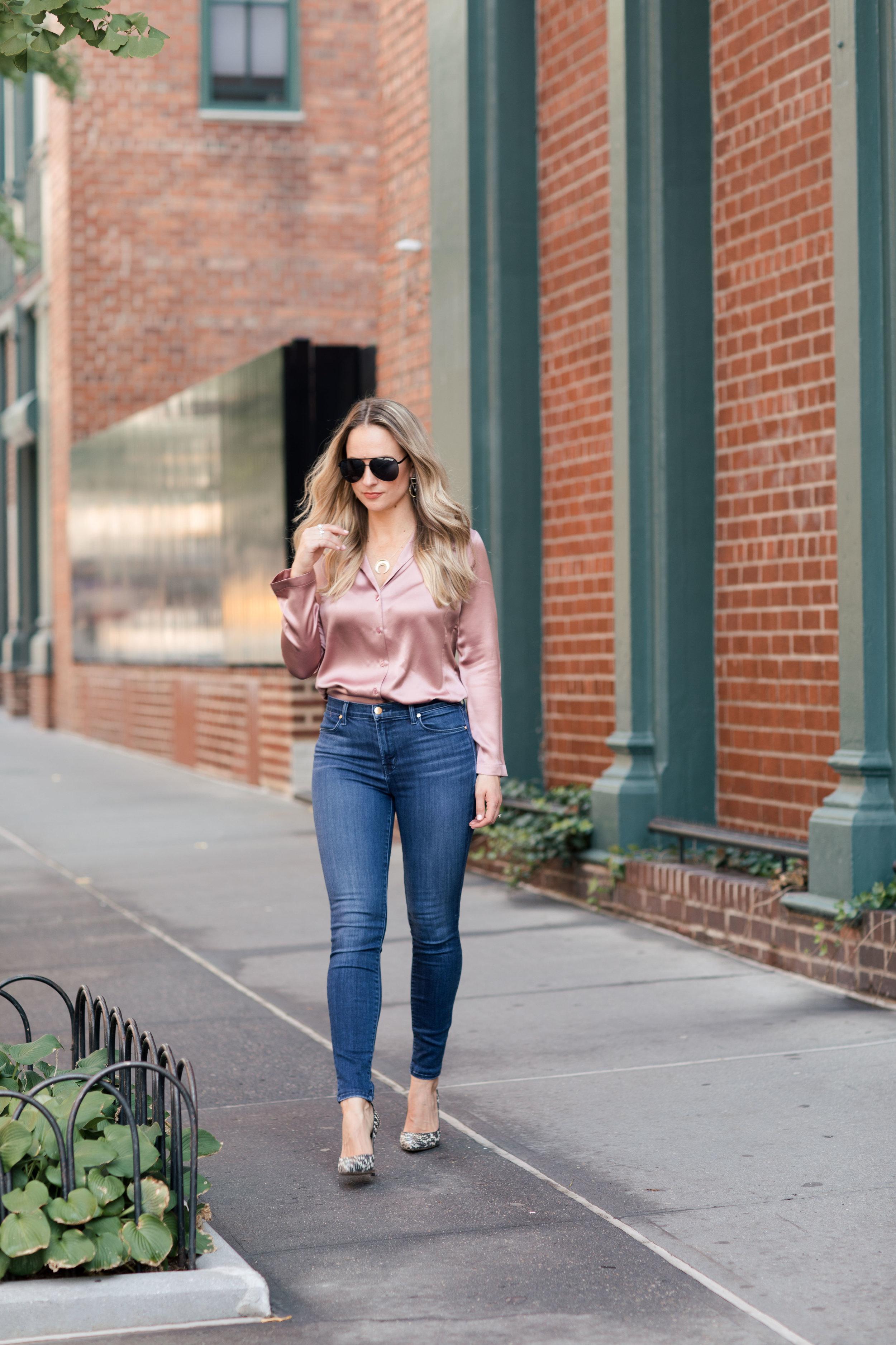 PJ blouse