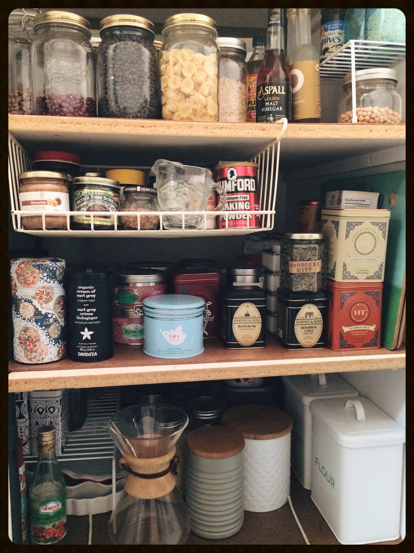 The Pantry, post facto