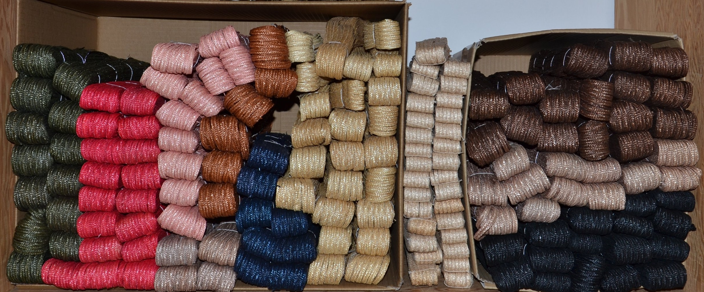Straw Braid Colours
