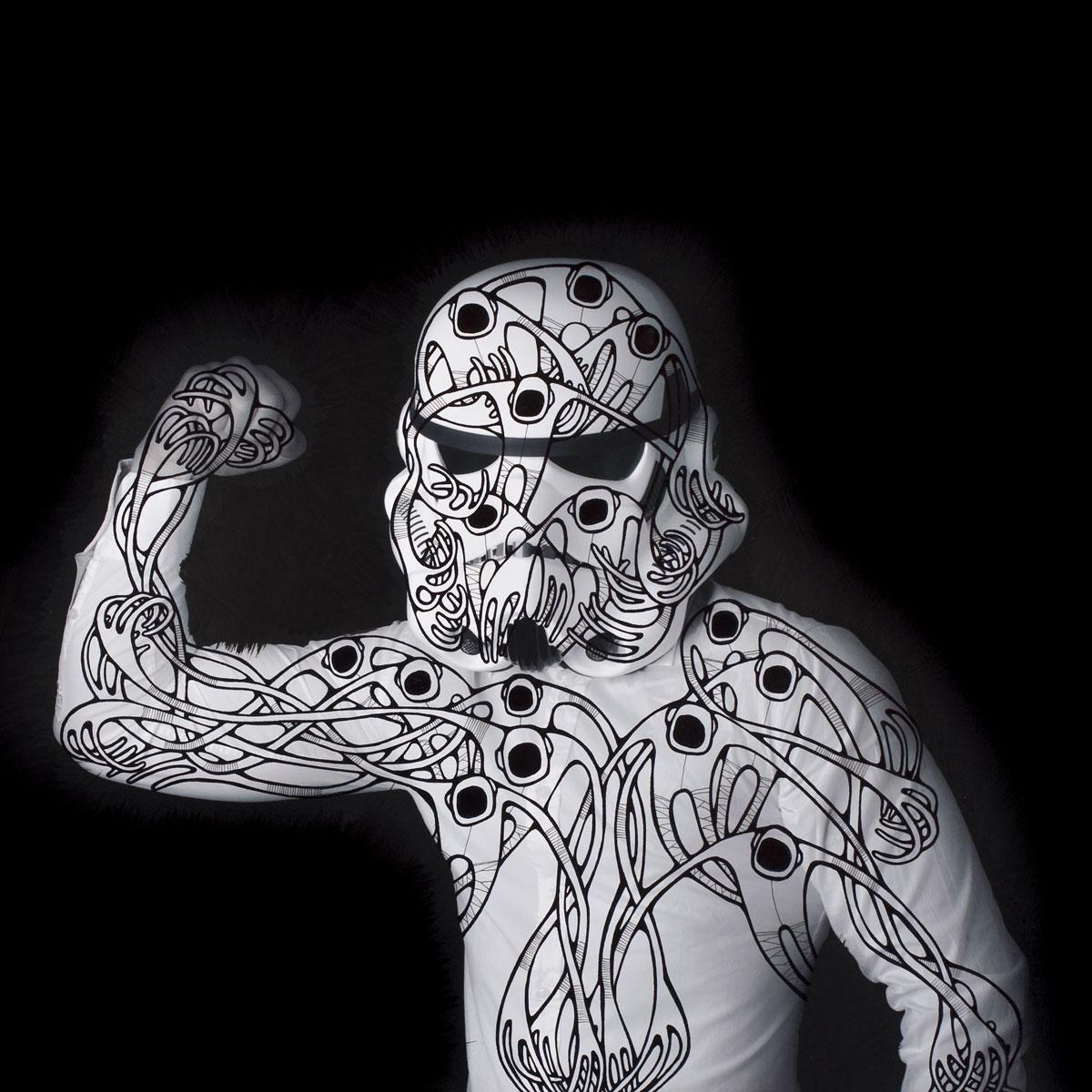 (Self portrait as a) Stormtrooper