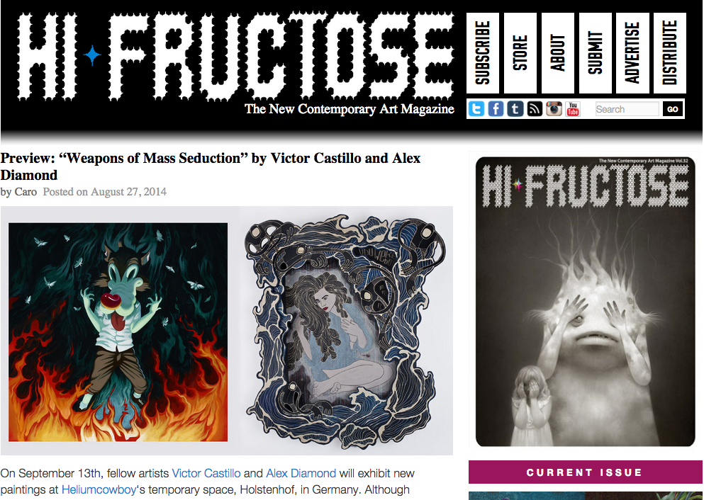 Click image to read the article at Hi-Fructose.com