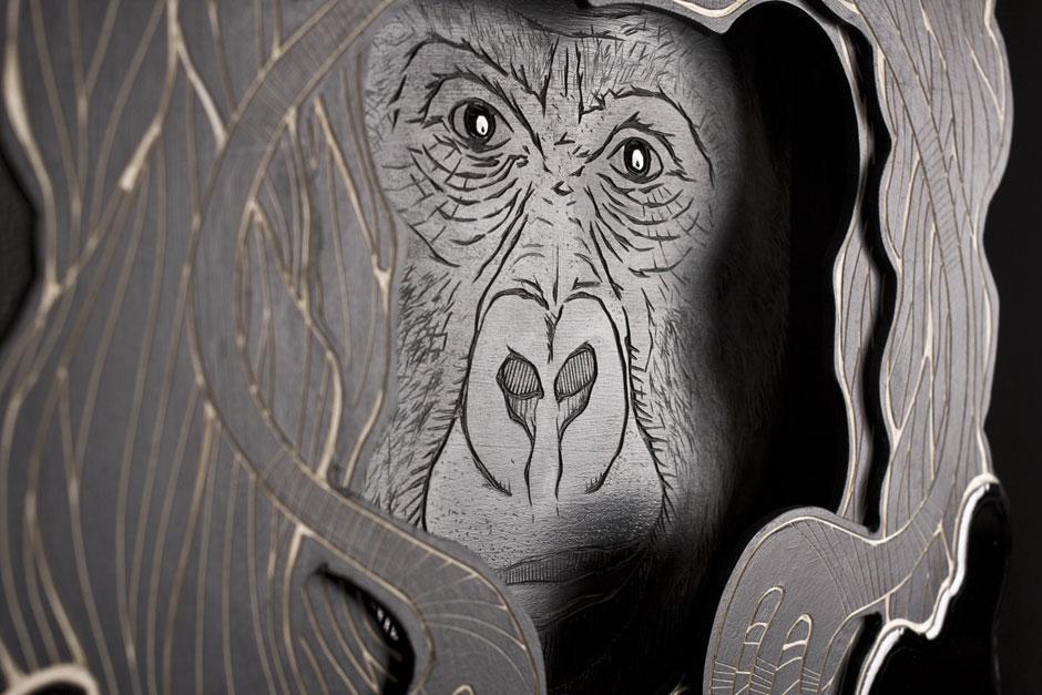 Detail from: Animal Inside (Masked Hero #01: Gorilla) | © Alex Diamond
