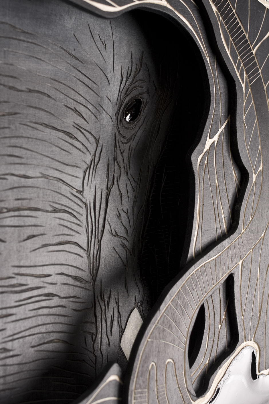 Detail from: Animal Inside (Masked Hero #02: Elephant) | © Alex Diamond