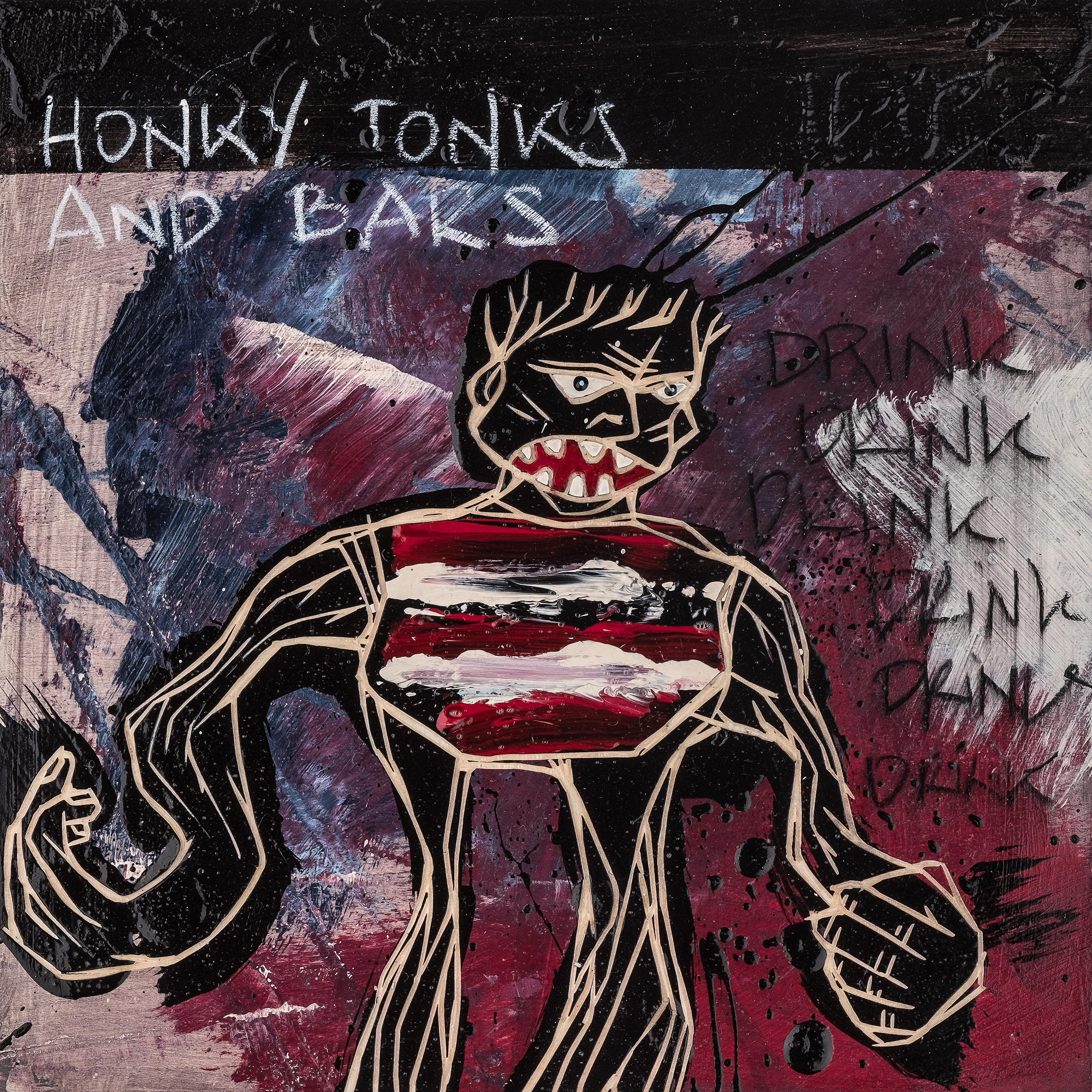 Honky Tonk And Bars / The Freedom Paintings #07 (2018)