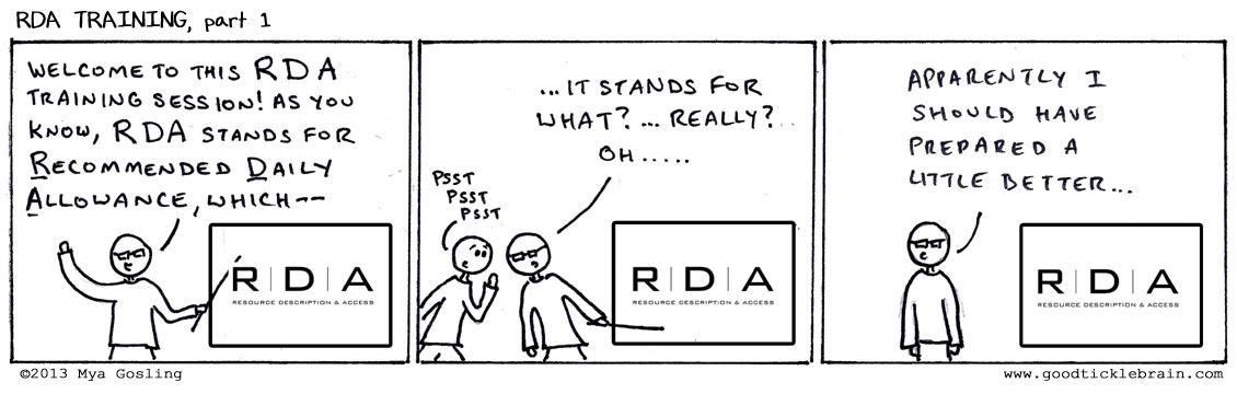 RDA Training, part 1