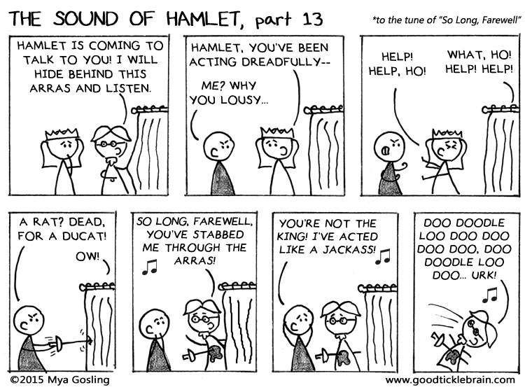 The Sound of Hamlet, part 8 shakespeare news The Shakespeare Standard theshakespearestandard.com shakespeare plays list play shakespeare