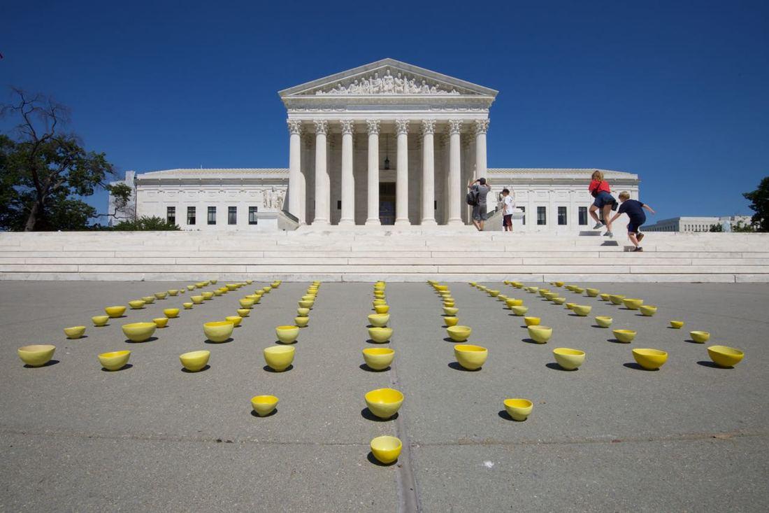US Supreme Court - Washington DC, image courtesy of the Artist