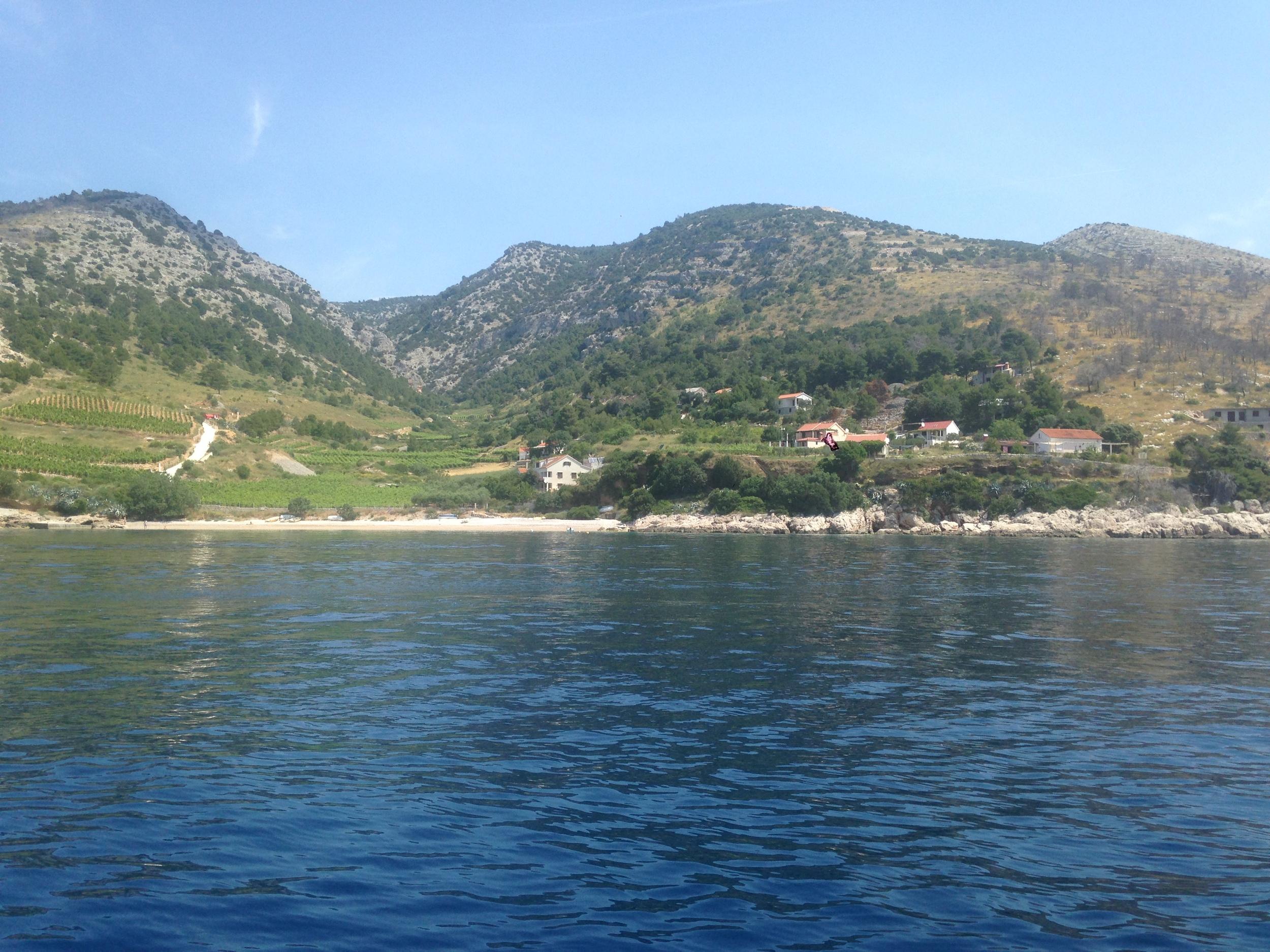 Southside island Brac