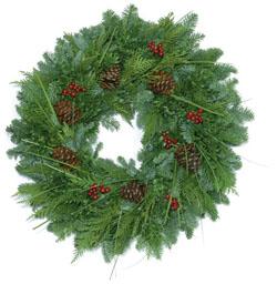 Mountain Grandeur Wreath